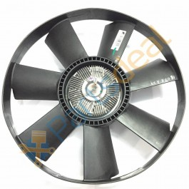 Visco Clutch with Fan for Tata Cummins Engine & Others, 4 Hole, Euro 3