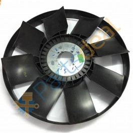 """Engine Fan Dia 24"""", 8 Blades, Ring Type"""
